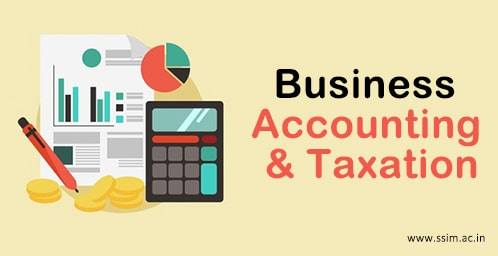 Business Accounting & Taxation