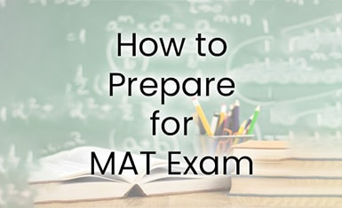 how to prepare for MAT exam